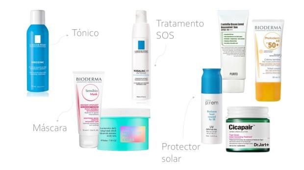 cuidados de pele rosácea